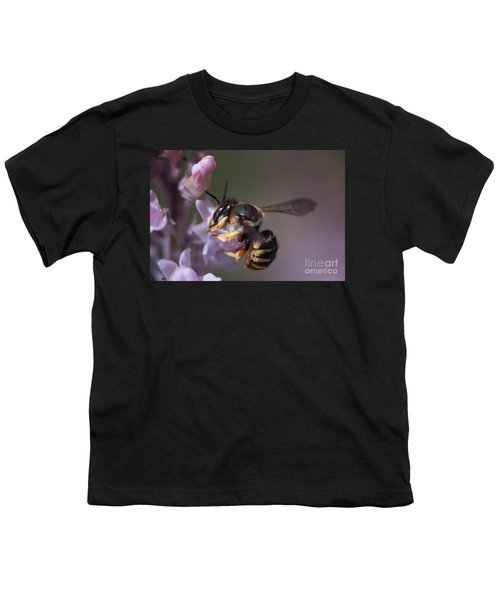 Bee Sipping Nectar Youth T-Shirt