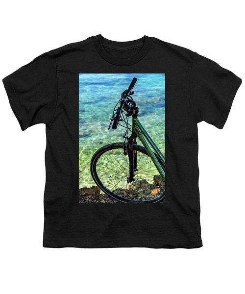 Biking The Rovinj Coastline - Rovinj, Istria, Croatia Youth T-Shirt