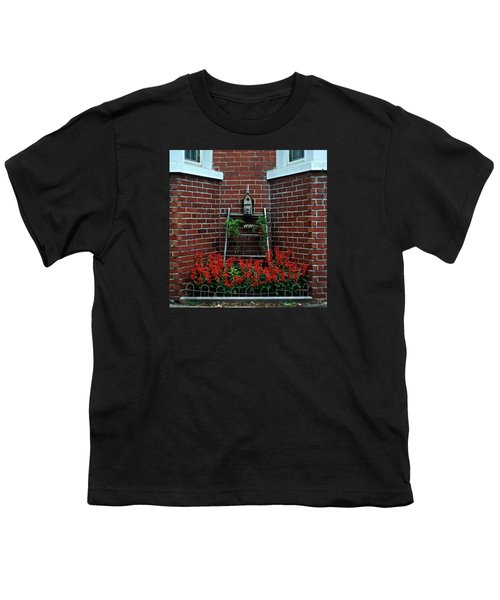 Birdhouse On The Tier Youth T-Shirt by Frank J Casella