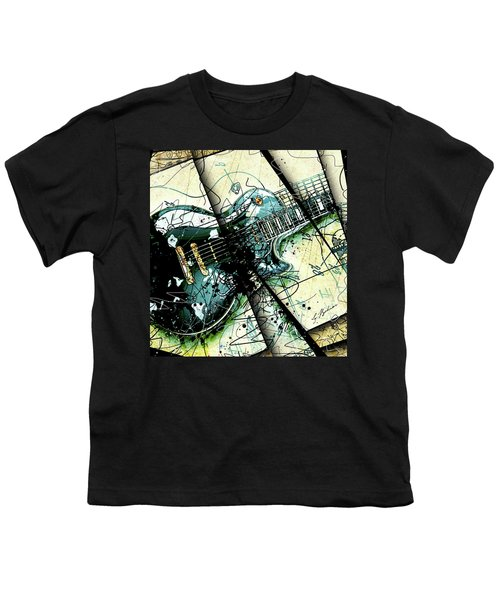 Black Beauty C 1  Youth T-Shirt by Gary Bodnar