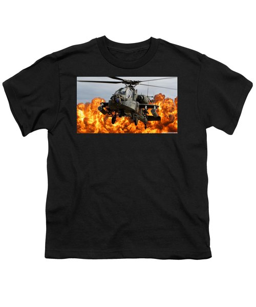 Boeing Ah-64 Apache Youth T-Shirt