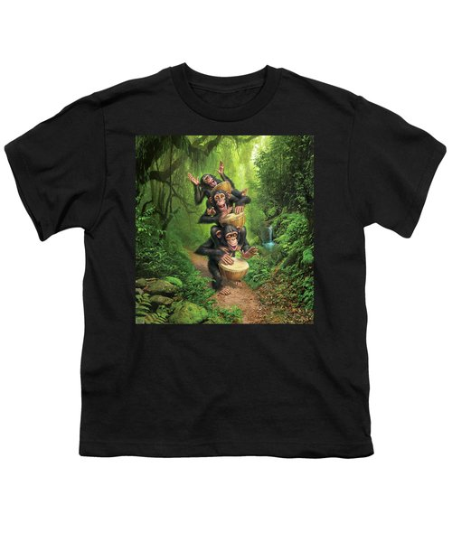 Bongo In The Jungle Youth T-Shirt