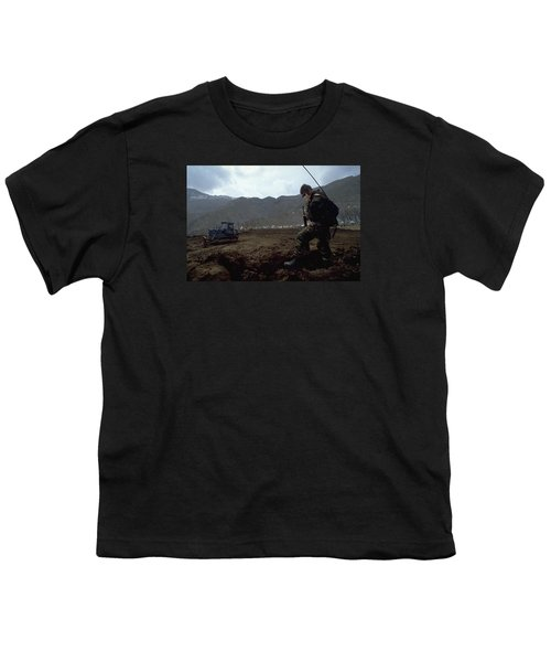 Youth T-Shirt featuring the photograph Boots On The Ground by Travel Pics