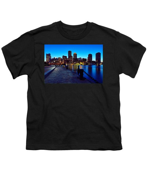 Boston Harbor Walk Youth T-Shirt
