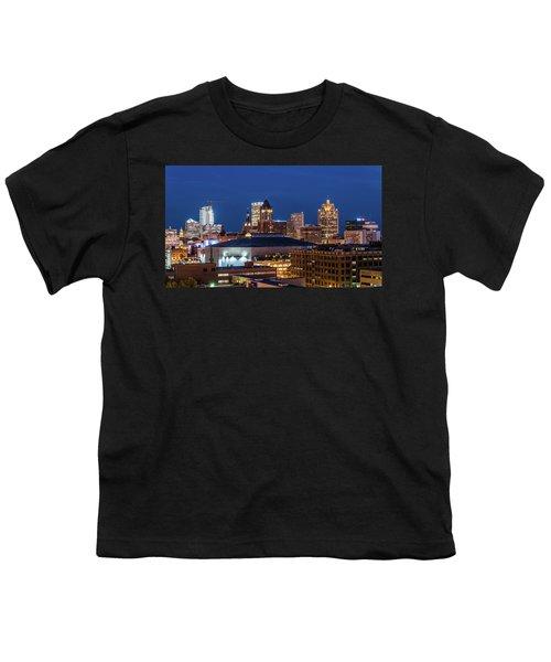 Brew City At Dusk Youth T-Shirt