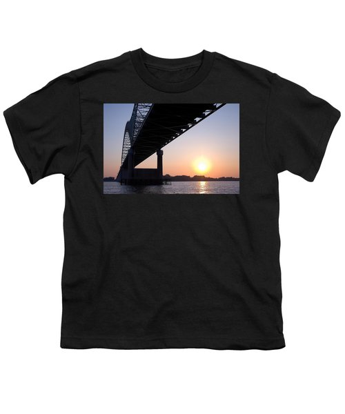 Bridge Over Mississippi River Youth T-Shirt