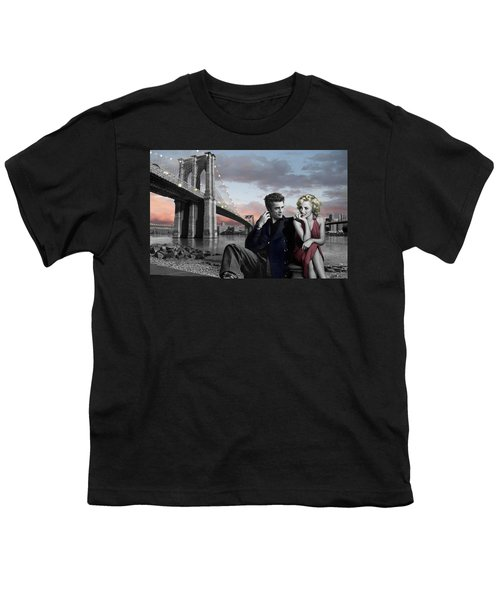 Brooklyn Bridge Youth T-Shirt by Chris Consani