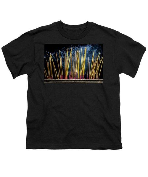 Burning Joss Sticks Youth T-Shirt