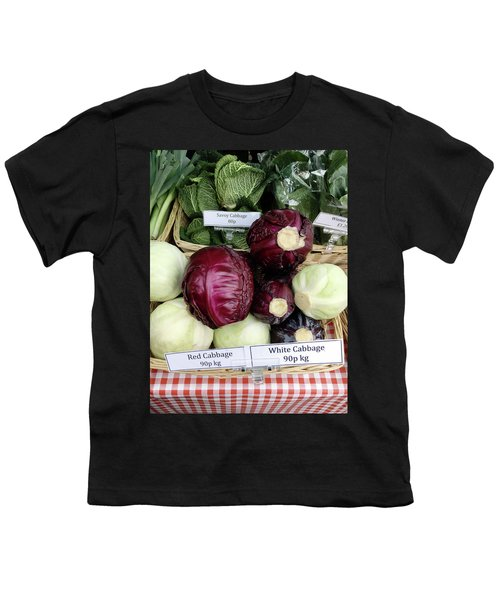 Cabbages In The Market Youth T-Shirt