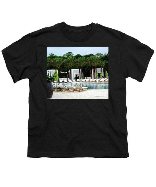 Caliza Pool In Alys Beach Youth T-Shirt