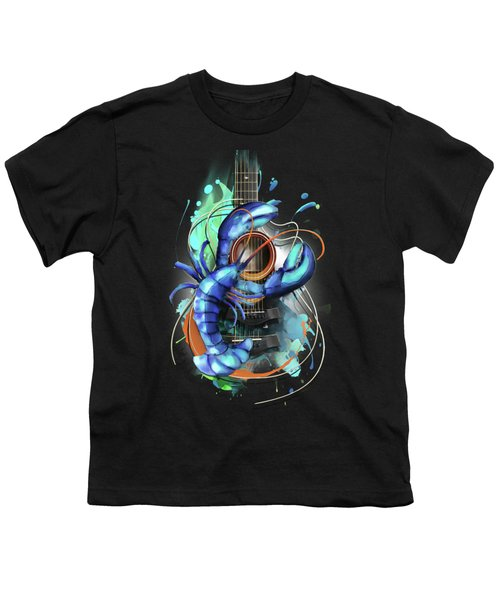 Cancer Youth T-Shirt by Melanie D
