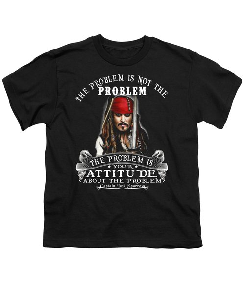 Captain Jack Sparrow Youth T-Shirt