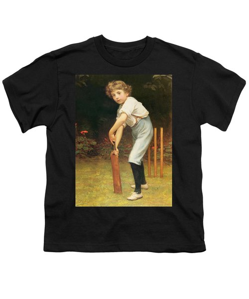 Captain Of The Eleven Youth T-Shirt by Philip Hermogenes Calderon