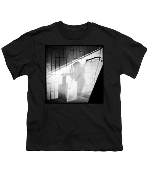 Carwash Shadow And Light Youth T-Shirt by Matthias Hauser
