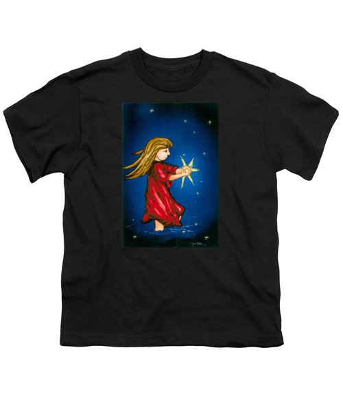 Catching Moonbeams Youth T-Shirt by Jana Nielsen