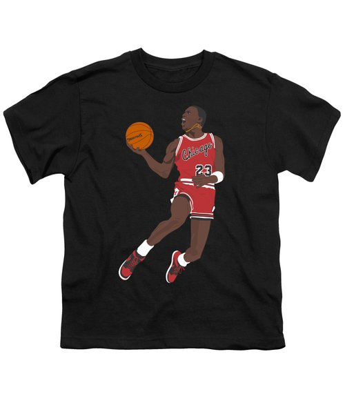 Chicago Bulls - Michael Jordan - 1985 Youth T-Shirt