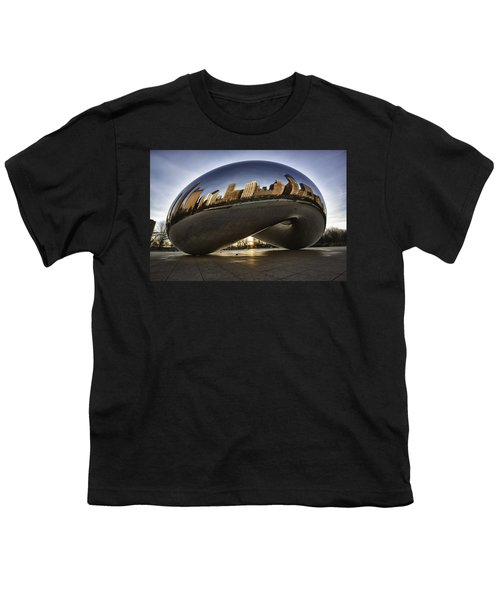 Chicago Cloud Gate At Sunrise Youth T-Shirt