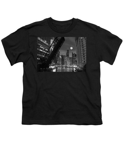 Chicago Pride Of Illinois Youth T-Shirt by Frozen in Time Fine Art Photography