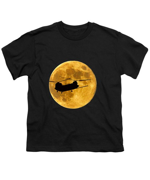 Chinook Moon Color .png Youth T-Shirt by Al Powell Photography USA