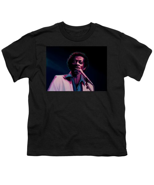 Chuck Berry Youth T-Shirt by Paul Meijering