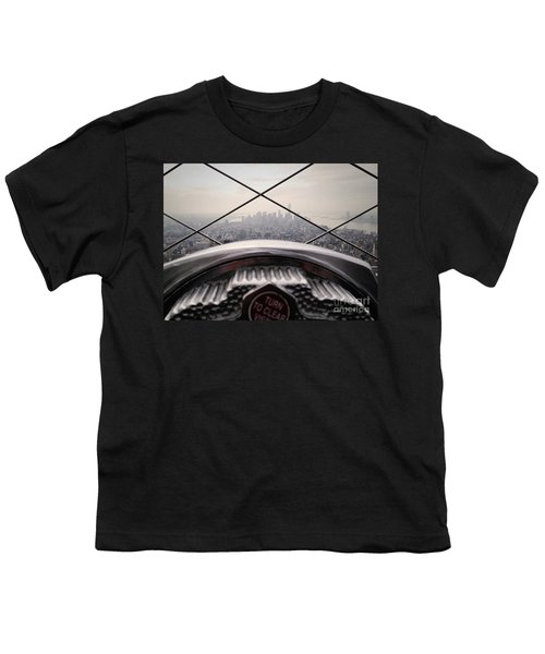 Youth T-Shirt featuring the photograph City View by MGL Meiklejohn Graphics Licensing