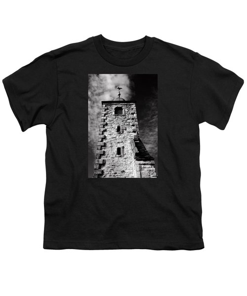 Clackmannan Tollbooth Tower Youth T-Shirt by Jeremy Lavender Photography