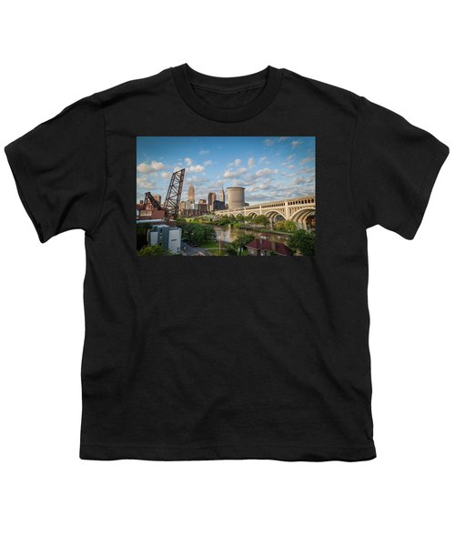 Cleveland Skyline Vista Youth T-Shirt