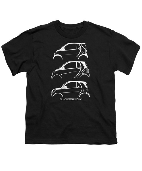 Clever Coupe Silhouettehistory Youth T-Shirt