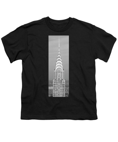 Close Up Of The Chrysler Building At Sunset. It Is The View From 42nd Street And 5th Avenue. Youth T-Shirt