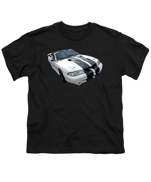 Cobra Mustang Convertible Youth T-Shirt by Gill Billington