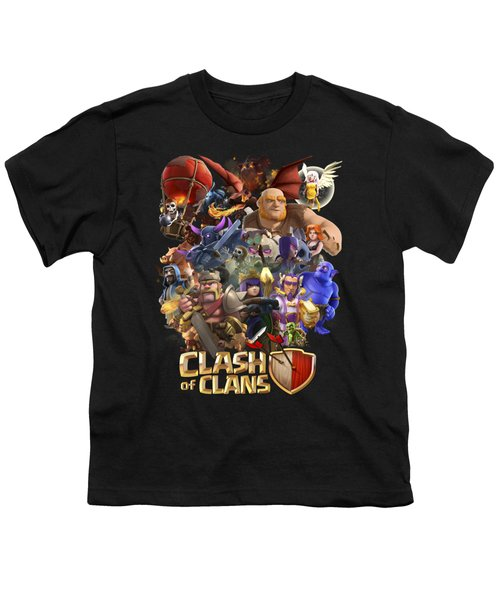 Coc Troops Youth T-Shirt