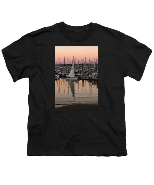 Youth T-Shirt featuring the photograph Coming Into The Harbor by Lora Lee Chapman