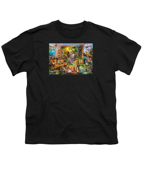 Coming To Room Youth T-Shirt by Jan Patrik Krasny