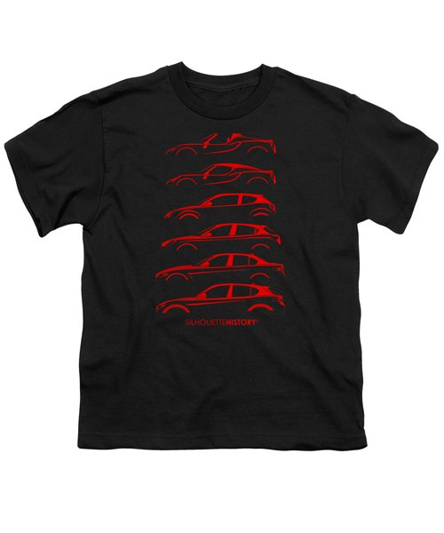 Contemporary Lombard  Silhouettehistory Youth T-Shirt by Gabor Vida