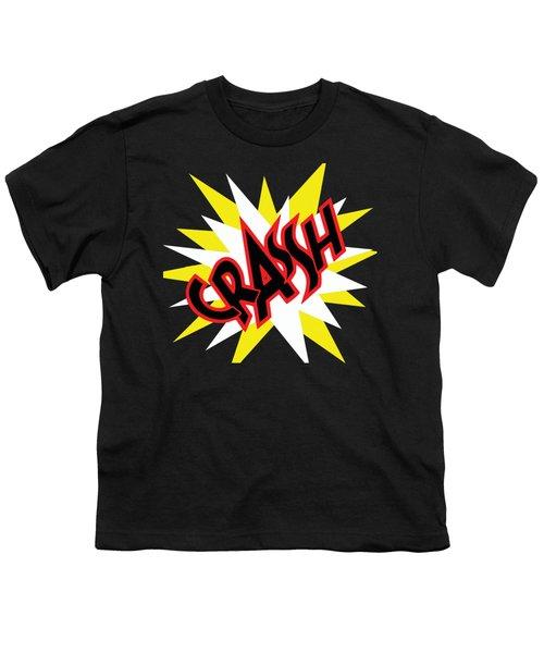 Crash T-shirt And Print By Kaye Menner Youth T-Shirt by Kaye Menner