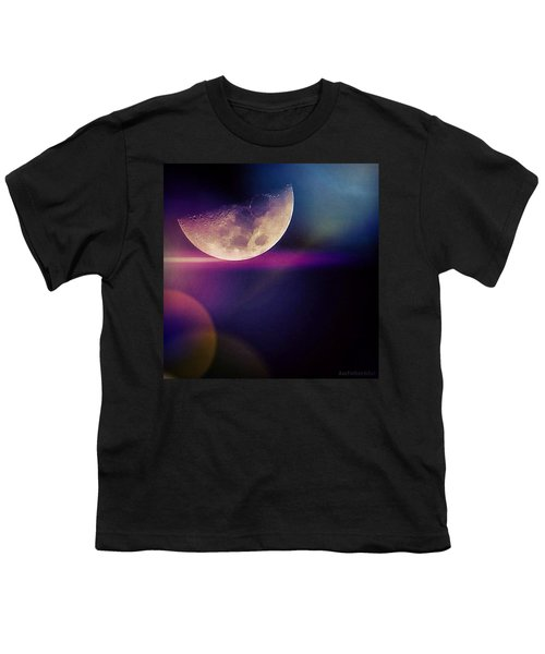 #crazy #colorful #fun #moon And The Youth T-Shirt