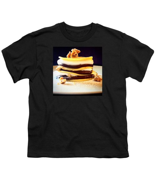 Crepes Nutella Walnuts And Cream Youth T-Shirt