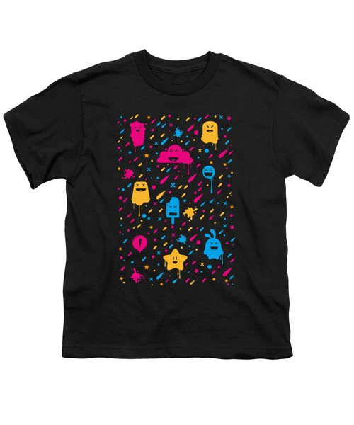 Cute Color Stuff Youth T-Shirt
