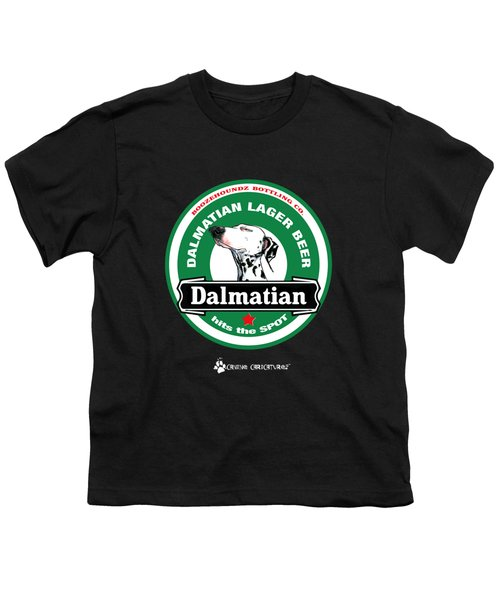 Dalmatian Lager Beer Youth T-Shirt