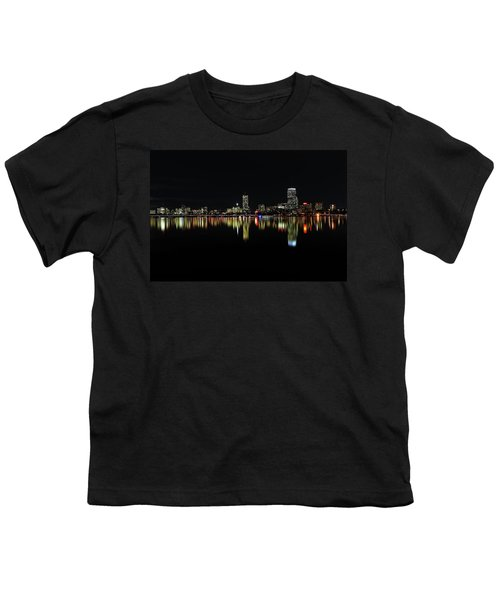 Dark As Night Youth T-Shirt by Juergen Roth