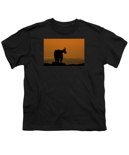 Youth T-Shirt featuring the photograph Day's End by Gary Lengyel