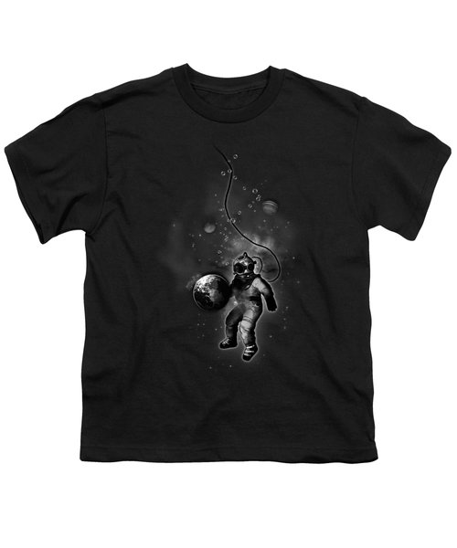 Deep Sea Space Diver Youth T-Shirt by Nicklas Gustafsson