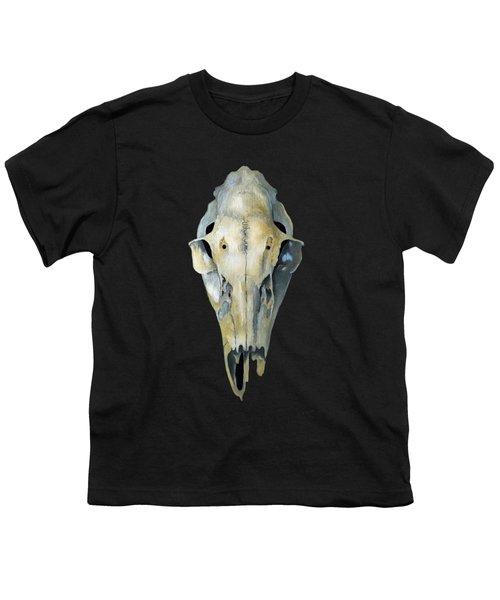 Deer Skull Aura Youth T-Shirt