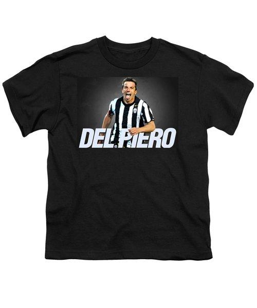 Del Piero Youth T-Shirt by Semih Yurdabak