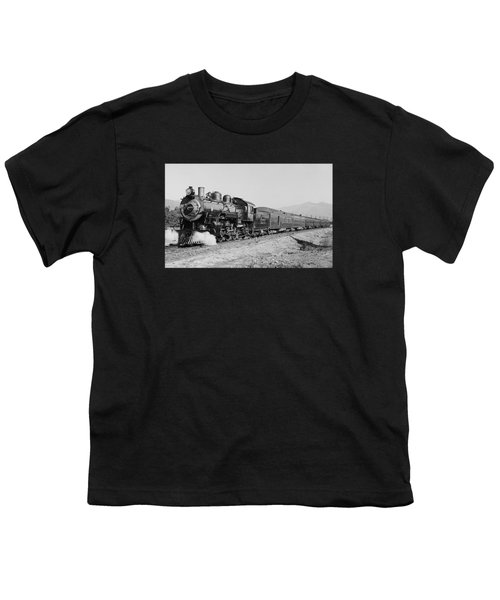 Deluxe Overland Limited Passenger Train Youth T-Shirt