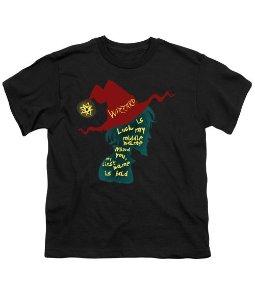 Discworld - Rincewind Youth T-Shirt by Sator