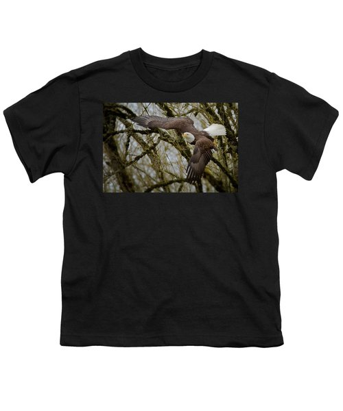 Eagle Take Off Youth T-Shirt