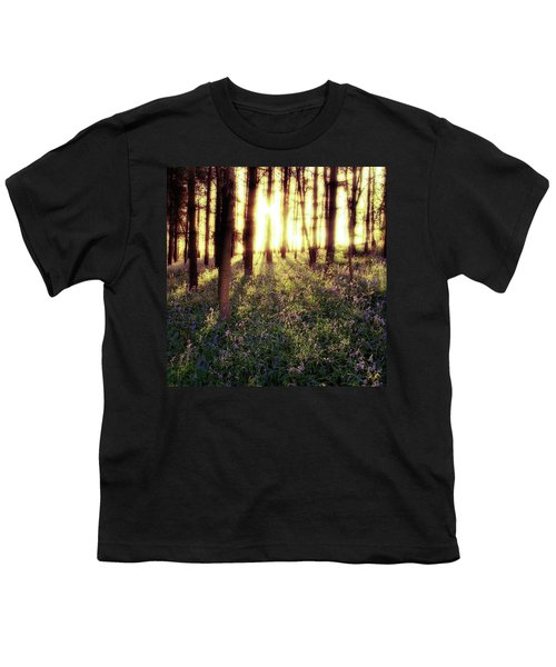 Early Morning Amongst The Youth T-Shirt by John Edwards