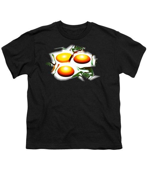 Eggs For Breakfast Youth T-Shirt by Anastasiya Malakhova