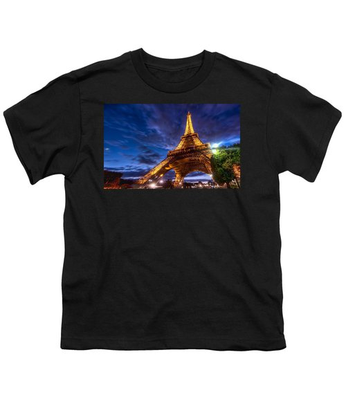 Eiffel Tower Youth T-Shirt